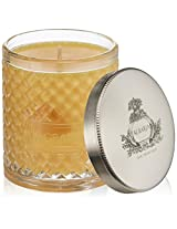 Agraria San Francisco Woven Crystal Candle, Golden Cassis