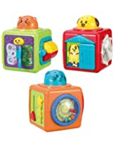 Winfun Stack 'n Play Activity Bloks, Multi Color