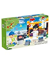 BanBao Concert Building Set, 72-Piece