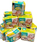 Pampers Swaddlers Newborn baby Diapers 240 count [Personal Care]