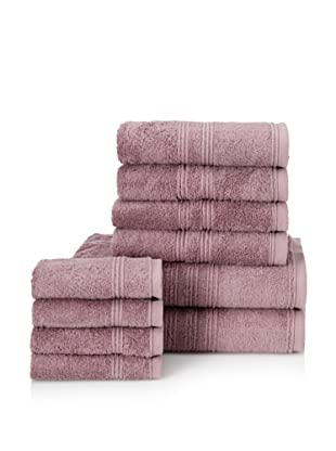 Chortex 10-Piece Imperial Bath Towel Set, Iris