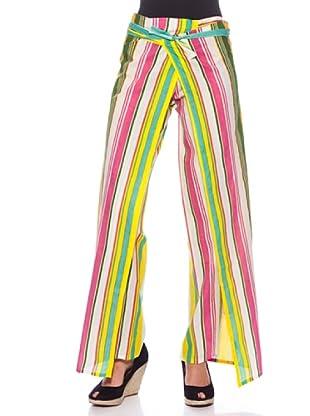 Sigris Pantalón Pareo Rayas (Multicolor)
