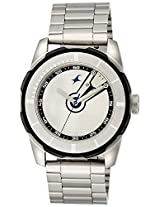 Fastrack Economy 2013 Analog Silver Dial Men's Watch - 3099SM01