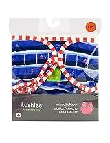 Kushies Swim Diaper, Blue Ahoy Print, Large By Kushies