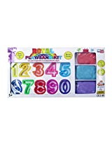 Royal Play Sand Kit with numbers molds