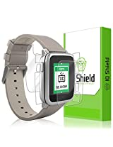 Iq Shield Li Quid Skin Pebble Time Steel Screen Protector + Full Body (Front & Back) With Lifetime Replacement Warranty High Definition (Hd) Ultra Clear Smart Film Premium Protective Screen Guard Extremely Smooth / Self Healing / Bubble Free Shield Frustration Free Retail Packaging