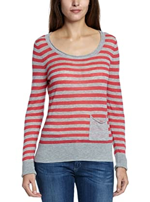 Great Plains Camiseta  Ricarda (Gris / Rosa)