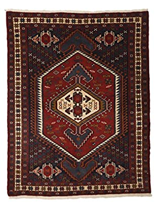 Darya Rugs Persian One-of-a-Kind Rug, Red, 4' 2