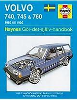 Volvo 700 Series Service and Repair Manual: 82-92 2016