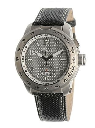 Carbon 14 E33 - Reloj Caballero Movimiento Quarzo Correa Textil Negro
