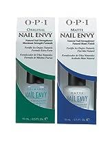 OPI Nail Treatment Envy Original/matte Combo .5oz Each [Personal Care]