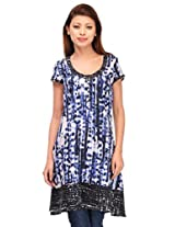 MOTIF Women's Dress (A222XL_Multi-Coloured_X-Large)