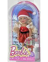 Barbie Chelsea 2014 Christmas Blonde Doll in Santa Costume