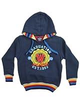 Waves Baby Boys' Fleece Sweatshirt (952-W15Navy1-2 Y_20)