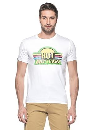 Hot Buttered Camiseta M/C Riga (Blanco)
