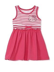 Hello Kitty Girl's 2-6X Rhinestone Tank Dress (Fuchsia)