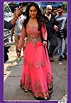 Madhuri Dixit in Designer Pink Bollywood Anarkali Suit - LFBWDF-50