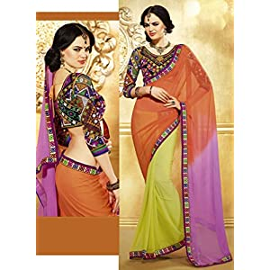 Talreja Sarees Bollywood Replica Lehenga - Multicolour