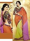 Bollywood Replica Multi Color Party Wedding Wear Saree