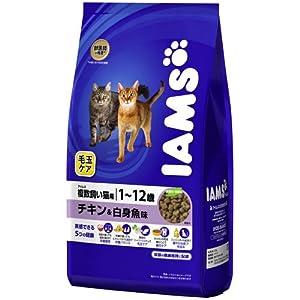 アイムス 毛玉ケア 複数飼い猫用 1歳~12歳 チキン&白身魚味 2.8kg
