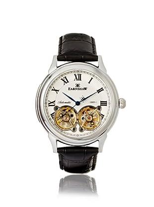 Earnshaw Men's 8030-01 Observatory Black/White Stainless Steel Watch