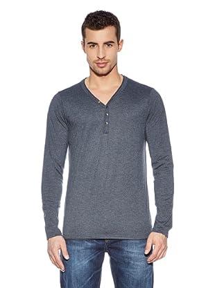 Cross Jeans Camiseta Casual (Gris)