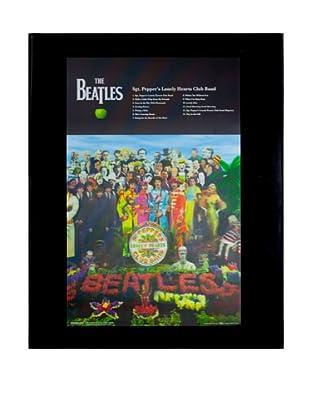 The Beatles Sgt. Pepper Framed 3-D Hologram Poster