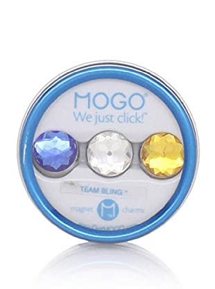 MOGO Design Blue-Clear-Gold Team Bling Collection