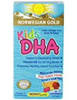 Renew Life NG Kids DHA Gels, 60 Count