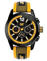 CAT Men's YO16964124 Big Twist Yellow and Black Analog Watch