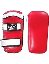 LEW Trainer Muay Thai Focus Pad- Red/White