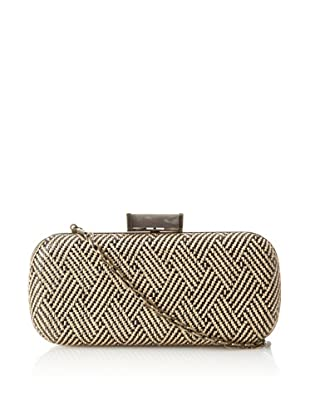 Urban Expressions Women's Mingle Clutch, Black/Natural