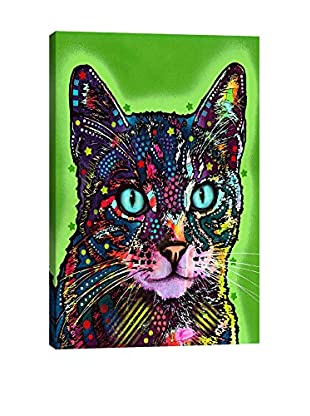 Dean Russo Watchful Cat Gallery Wrapped Canvas Print