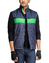 Yepme Men's Polyester Jacket (YPMJACKT0036_Multi-Coloured_X-Large)