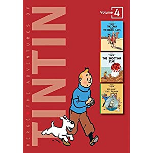 Adventures of Tintin - Vol. 4: The Crab with the Golden Claws, The Shooting Star & The Secret of the Unicorn (The Adventures of Tintin - Compact Editions)