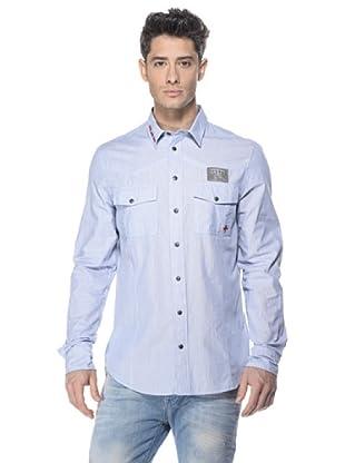 Zu-Elements Camisa Takao (Azul)
