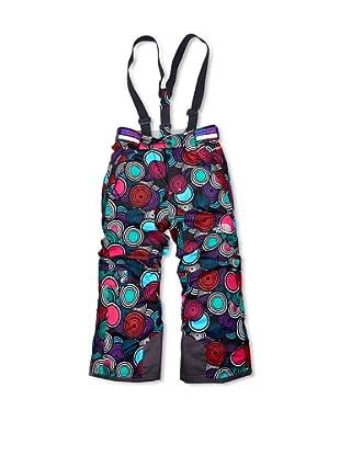 The North Face Pantalones Skihose Insulated Kids (Negro / Turquesa)