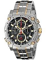 Bulova Precisionist Analog Black Dial Men's Watch - 98B228