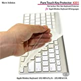 �t���t���b�g�L�[�{�[�h�J�o�[�EPure Touch Key Protector #201 for Apple Wireless Keyboard JIS-US / PTKP201�}�C�N���\�����[�V���� Micro...�ɂ��