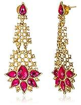 Ava Drops Earrings for Women (Pink) (E-SD-ACE549)