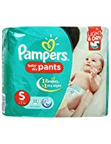 Pampers Pant Diapers Light And Dry Small 22 Pieces (4 to 8 kg)