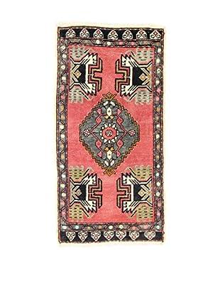 L'Eden del Tappeto Teppich Yastik rot/schwarz 100t x t52 cm
