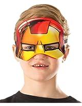 Rubie's Costume Marvel Universe Iron Man Child Costume Plush Eye Mask