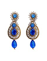 HI Look Crystal Studded Earrring for Women