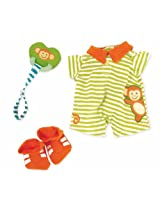 Manhattan Toy Baby Stella Little Monkey Onesie Baby Doll Clothing