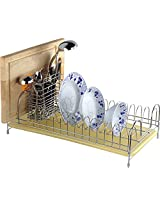 Magicook Stainless Steel Chrome Coated Dish Rack, Steel