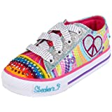 Skechers Shuffles-Heart Sparks, Baskets mode fille