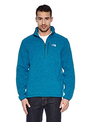 Th North Face Pile M Gordon Lyons 1/4 Zip (Blu)