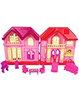 Ollington St. Collection Sweet Home Doll House - Pink