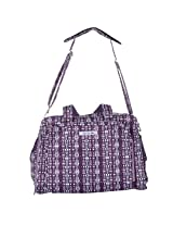 JU JU BE BePrepared Messenger Women's Diaper Bag Purple